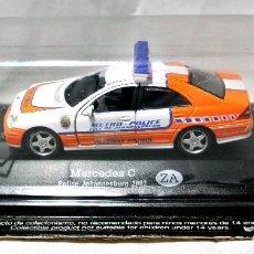 Coches a escala: COCHE DE POLICIA MERCEDES C POLICE JOHANNESBURG 2002 ZA SUDÁFRICA , 1:43 , NUEVO EMPAQUE SELLADO*. Lote 128528095