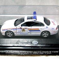 Coches a escala: COCHE DE POLICIA JAGUAR S , RCM POLICE 2002 CDN, CANADA, 1:43 , NUEVO EMPAQUE SELLADO *. Lote 128872779