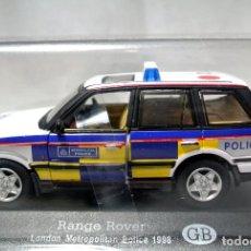 Coches a escala: COCHE DE POLICIA RANGE ROVER LONDON METROPOLITAN POLICE 1998, GB , 1:43 , NUEVO, EMPAQUE SELLADO *. Lote 128873175