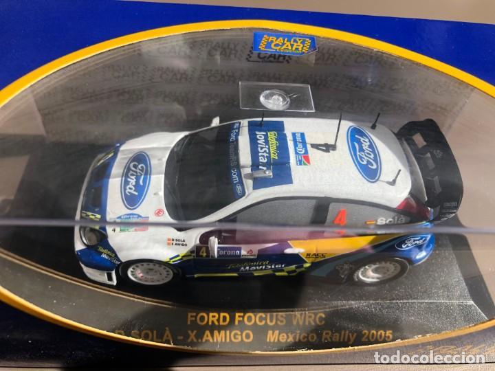 Coches a escala: Vendo FORD FOCUS WRC - D. SOLÀ - X. AMIGÓ - RALLY MEXICO 2005 - 1/43 - Foto 2 - 266829384