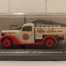 Coches a escala: COCHE COLECCION ESCALA 1/43 FIAT 1100 ELR CAMIONCINO LATTERIA SORESINESE (1952). Lote 224163453