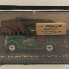 Coches a escala: COCHE COLECCION ESCALA 1:43 FIAT 1100 ELR TELONATO SALVATORI (1952). Lote 224163923