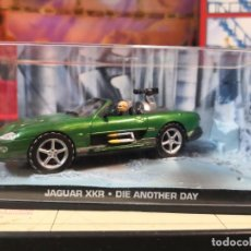 Coches a escala: JAGUAR XKR DIE ANOTHER DAY JAMES BOND 007 COCHE METAL ESCALA 1:43. Lote 245726500