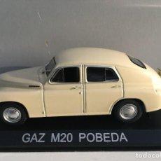 Coches a escala: COCHE GAZ M20 POBEDA 1955 ESCALA 1/43. REFERENCIA 10.. Lote 225800241