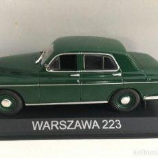 Coches a escala: COCHE WARSZAWA 223- 4 PUERTAS 1954 ESCALA 1/43. REFERENCIA 11.. Lote 225800575