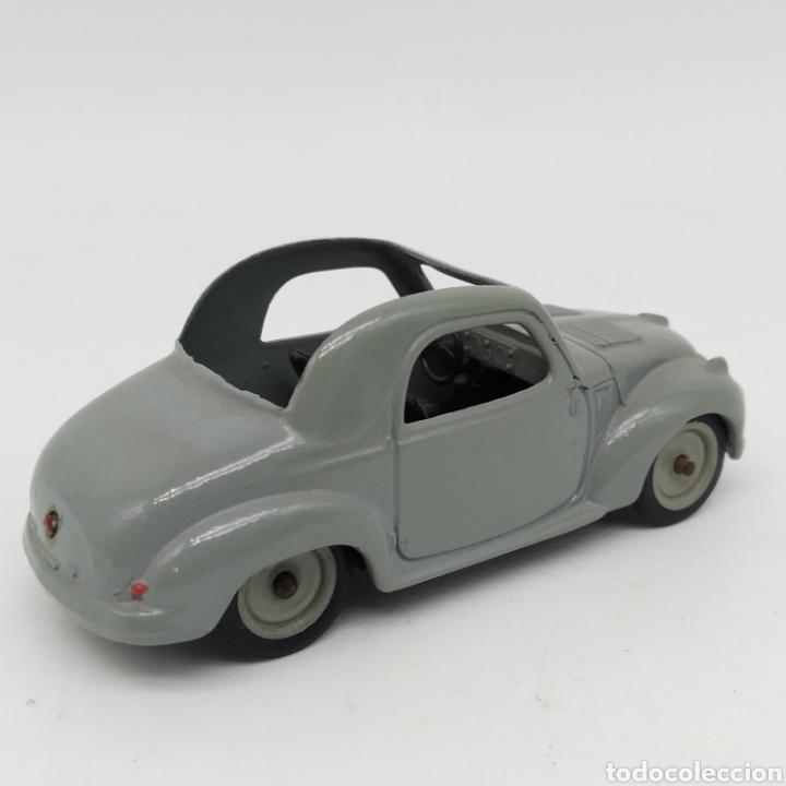 Coches a escala: Fiat 500C Topolino de Brumm, original, no reedición - Foto 2 - 226859534