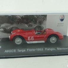 Coches a escala: MASERATI A6GCS TARGA, FANGIO DE 1953.. Lote 230278725