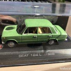Coches a escala: SEAT 124 L - 1/43 - 1969. Lote 230476780
