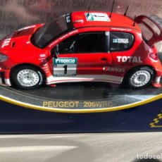 Coches a escala: PEUGEOT 206 WRC - 1/43 - M.GRONHOLM - T.RAUTIANEN - NEW ZEALAND RALLY 2003. Lote 230477970