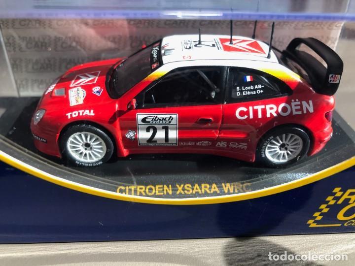 Coches a escala: CITROEN XSARA WRC - 1/43 - S. LOEB - D. ELENA - DEUTSCHLAND RALLY 2002 - Foto 3 - 259870665