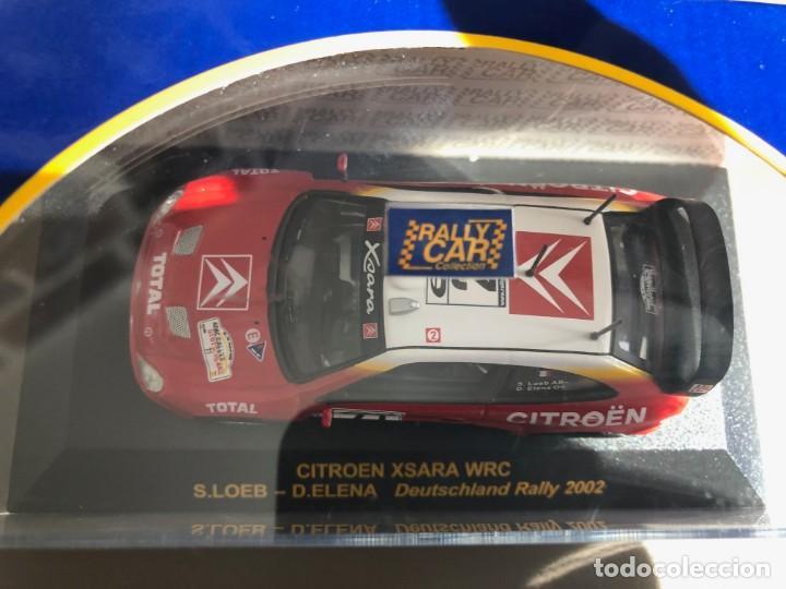 Coches a escala: CITROEN XSARA WRC - 1/43 - S. LOEB - D. ELENA - DEUTSCHLAND RALLY 2002 - Foto 2 - 259870665