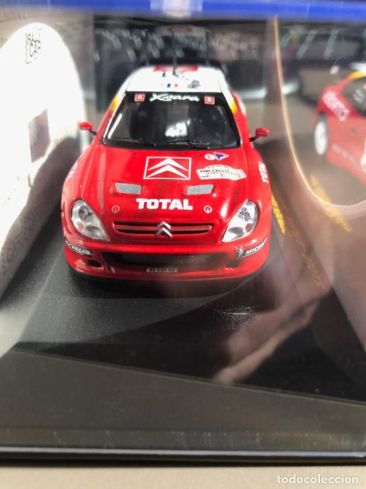 CITROEN XSARA WRC - 1/43 - S. LOEB - D. ELENA - DEUTSCHLAND RALLY 2002 (Juguetes - Coches a Escala 1:43 Otras Marcas)