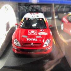 Coches a escala: CITROEN XSARA WRC - 1/43 - S. LOEB - D. ELENA - DEUTSCHLAND RALLY 2002. Lote 259870665