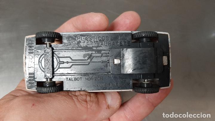 Coches a escala: COCHE JUGUETE FRICCION TALBOT HORIZON PLASTICOS ALBACETE AÑOS 70 - Foto 3 - 231078650