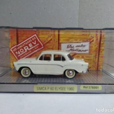 Coches a escala: SIMCA P-60 ELYSEE , MARFIL , NOREV 576001. Lote 231632570