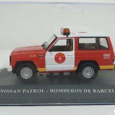 Coches a escala: NISSAN PATROL BOMBEROS DE BARCELONA.. Lote 232110055