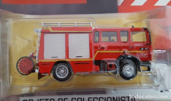 CAMIÓN DE BOMBEROS AUTOBOMBA LIGERA RENAULT S180 MIDLINER GALLIN, BOMBEROS DE ALTA SABOYA FRANCIA (Juguetes - Coches a Escala 1:43 Otras Marcas)