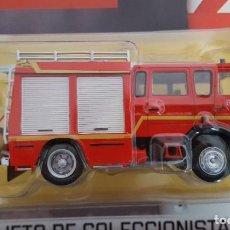 Coches a escala: CAMIÓN DE BOMBEROS AUTOBOMBA LIGERA RENAULT S180 MIDLINER GALLIN, BOMBEROS DE ALTA SABOYA FRANCIA. Lote 232598925