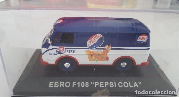 FURGONETA EBRO F-108 PEPSI-COLA ESCALA 1:43 (Juguetes - Coches a Escala 1:43 Otras Marcas)