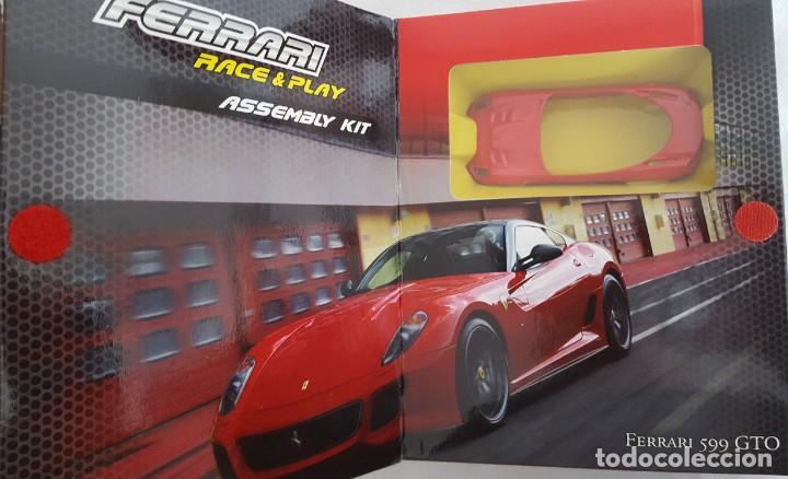 Coches a escala: BURAGO KIT DE MONTAGE PARA EL FERRARI 599 GTO ESCALA 1:43 - Foto 3 - 232725605
