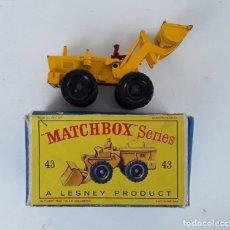 Coches a escala: MATCHBOX NUMERO 43. AVELING TRACTOR. AÑOS 60. CAJA Y VEHICULO MUY BUEN ESTADO.. Lote 232726565