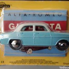 Carros em escala: MERCURY MODELO ALFA ROMEO GIULIETTA HACHETTE NUEVO Y EN BLISTER 1:43. Lote 234768975