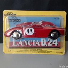 Coches a escala: COCHE MERCURY MODELO LANCIA D.24 HACHETTE 1:43 NUEVO EN BLISTER ORIGINAL DIE CAST. Lote 234775365
