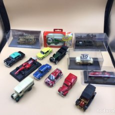 Coches a escala: LOTE DE COCHES ESCALA 1/43. Lote 236096470