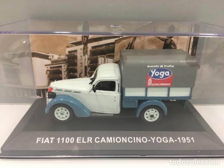 FURGONETA FIAT 1100 ELR CAMIONCINO- YOGA 1951 ESCALA 1/43 (Juguetes - Coches a Escala 1:43 Otras Marcas)