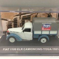 Coches a escala: FURGONETA FIAT 1100 ELR CAMIONCINO- YOGA 1951 ESCALA 1/43. Lote 289629418
