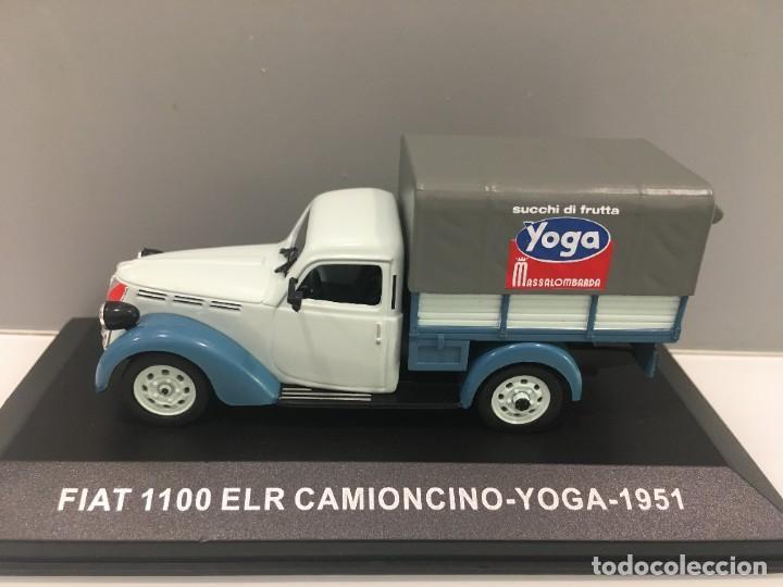 Coches a escala: FURGONETA FIAT 1100 ELR CAMIONCINO- YOGA 1951 ESCALA 1/43 - Foto 4 - 289629418