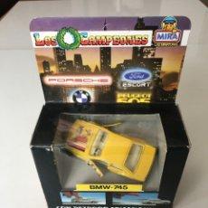 Coches a escala: COCHE MINIATURA MIRA BMW- 745, LOS CAMPEONES. Lote 237403460