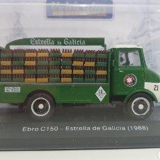 Coches a escala: CAMIÓN EBRO C150 ESTRELLA DE GALICIA 1968.. Lote 237693405
