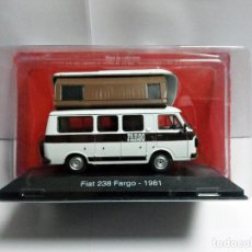 Coches a escala: FIAT 238 FARGO 1981 SALVAT HACHETTE PASSION CAMPING CARS - COCHE 1:43 FURGONETA AUTOCARAVANA CAMPER. Lote 238694435