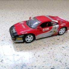 Coches a escala: DETAIL CARS FERRARI 355 RACING 1995 NUEVO Y EN URNA DE METACRILATO. Lote 240472430