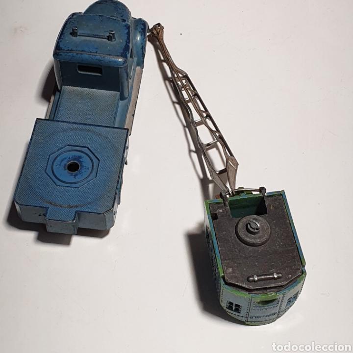 Coches a escala: Camión Marklin, 8031, Diecast Crane, Camion Grúa, Magirus Deutz, De Los Años 50. - Foto 7 - 240683990