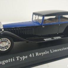 Coches a escala: BUGATTI TYPE 41 ROYALE LIMOUSINE PACKARD DE 1933.. Lote 240912975