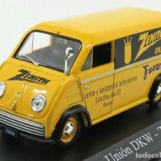 Coches a escala: FURGONETA AUTO UNION DKW ZENITH 1962 METAL 1/43 1:43 NUEVA SIN USO E SU BLISTER. Lote 293726088