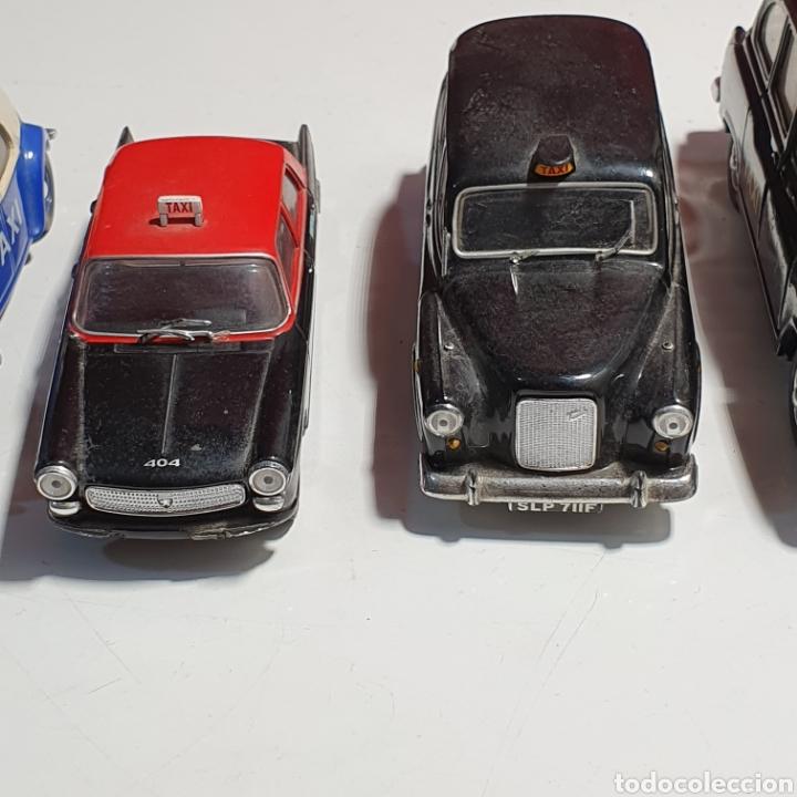 Coches a escala: Lote De 7 Taxis, 6 Escala 1.43, y 1 Escala 1.40, Los Fotografiados. - Foto 5 - 241454055
