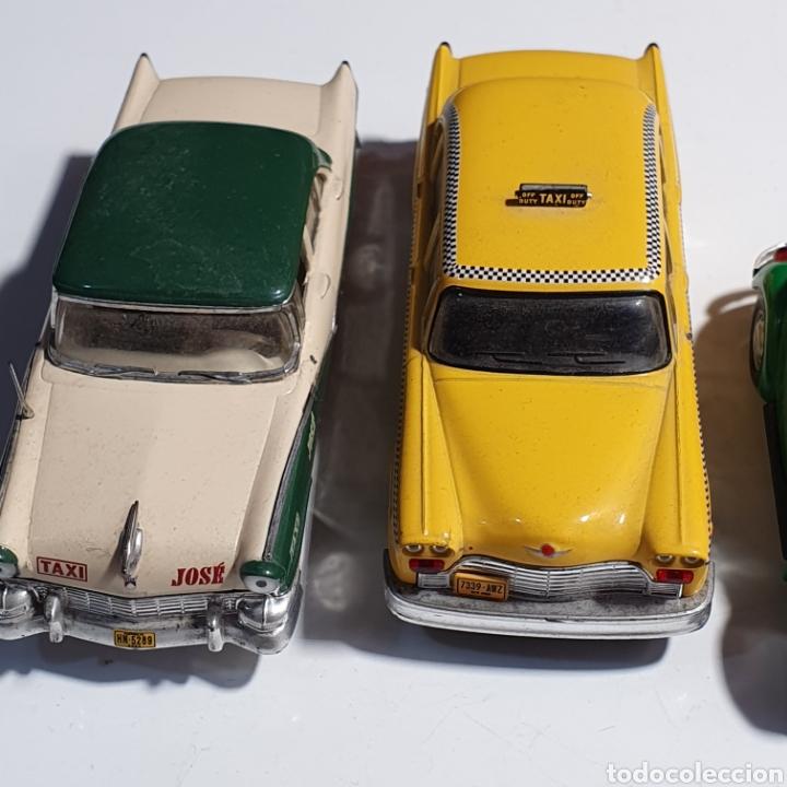 Coches a escala: Lote De 7 Taxis, 6 Escala 1.43, y 1 Escala 1.40, Los Fotografiados. - Foto 8 - 241454055