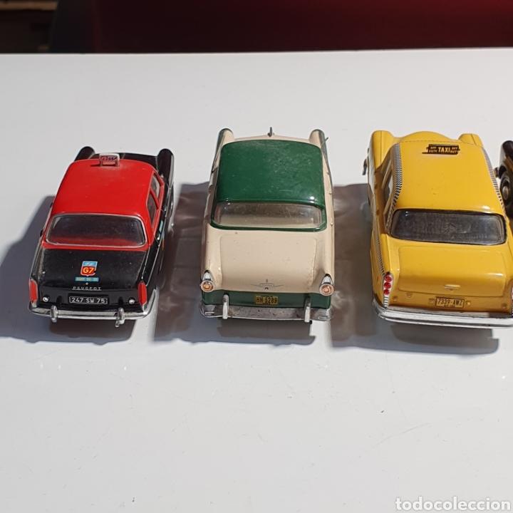 Coches a escala: Lote De 7 Taxis, 6 Escala 1.43, y 1 Escala 1.40, Los Fotografiados. - Foto 18 - 241454055