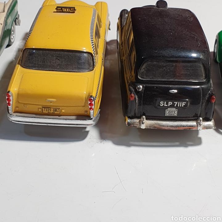 Coches a escala: Lote De 7 Taxis, 6 Escala 1.43, y 1 Escala 1.40, Los Fotografiados. - Foto 19 - 241454055