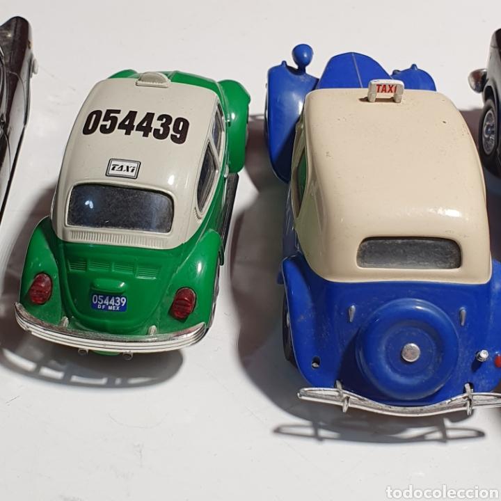 Coches a escala: Lote De 7 Taxis, 6 Escala 1.43, y 1 Escala 1.40, Los Fotografiados. - Foto 20 - 241454055