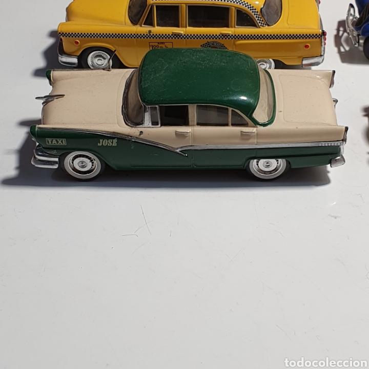 Coches a escala: Lote De 7 Taxis, 6 Escala 1.43, y 1 Escala 1.40, Los Fotografiados. - Foto 27 - 241454055