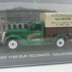 Coches a escala: FURGON FIAT 1100 ELR TELONATO DE 1952.. Lote 242046475