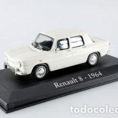 Coches a escala: RENAULT 8 (1964) RBA 1/43 NUEVO EN CAJA EXPOSITORA. Lote 244431195