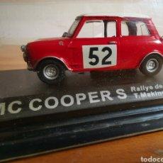 Coches a escala: COCHE 1:43 BMC COOPER S RALLY DE MONTECARLO 1965 NUEVO EN SU BLÍSTER. Lote 244453300