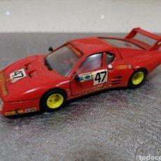 Carros em escala: BRUMM R213 - FERRARI 512 BB 1981 LE MANS ANDRUET - BALLOT BUEN ESTADO. Lote 246955540