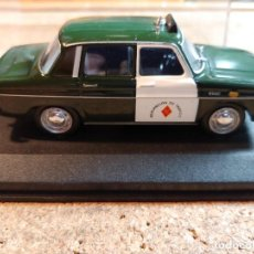 Auto in scala: COCHE RENAULT 10 DE LA GUARDIA CIVIL DE TRAFICO DE 1967 ESCALA 1/43 EN SU CAJA. Lote 249533635