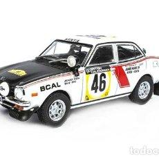 Auto in scala: COCHE RALLY MITSUBISHI COLT LANCER GSR / RALLY SAFARI 1974 - J. SINGH (ESCALA 1:43) IXO,N39. Lote 253455800